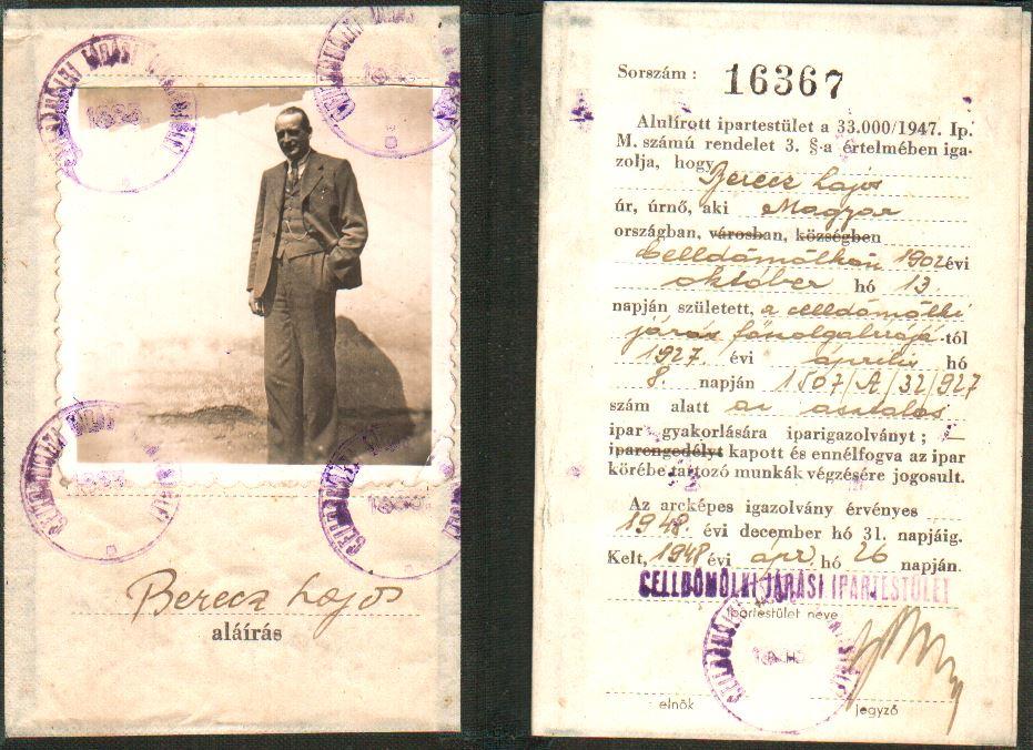 Forlong-Berecz Lajos