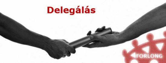 delegálás vezetőképzés Forlong