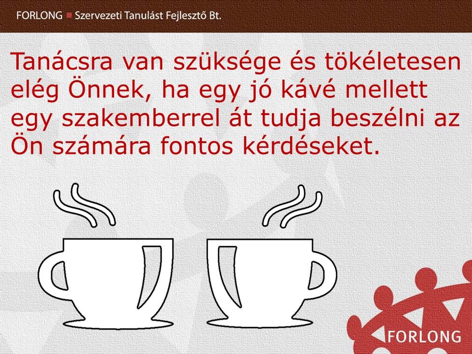 egyéni vezetői tanácsadás - coaching - kávé - Pécs