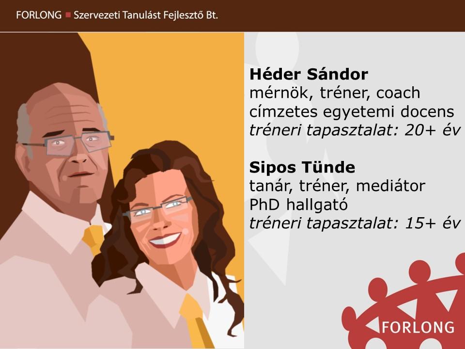 Héder Sándor - Sipos Tünde - Forlong Bt.