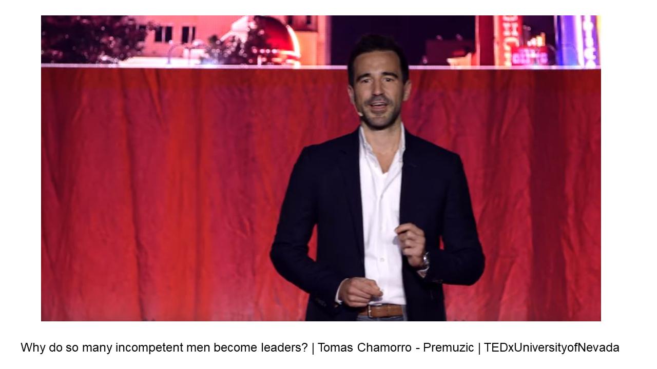 Video - miért lesz annyi férfiból inkompetens vezető - vezetőképzés