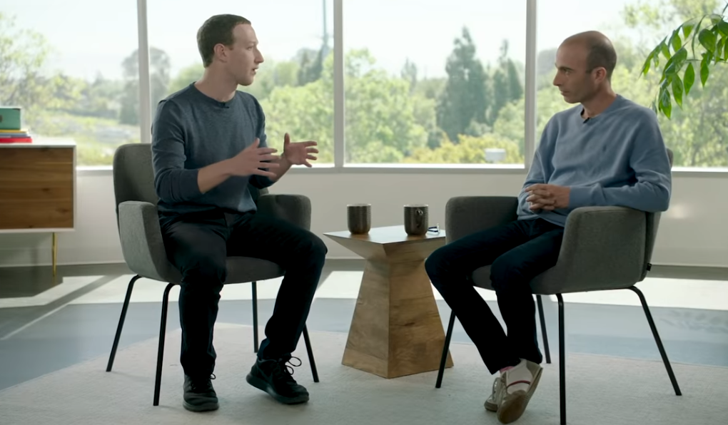 Mark Zuckerberg és Yuval Harari beszélgetése