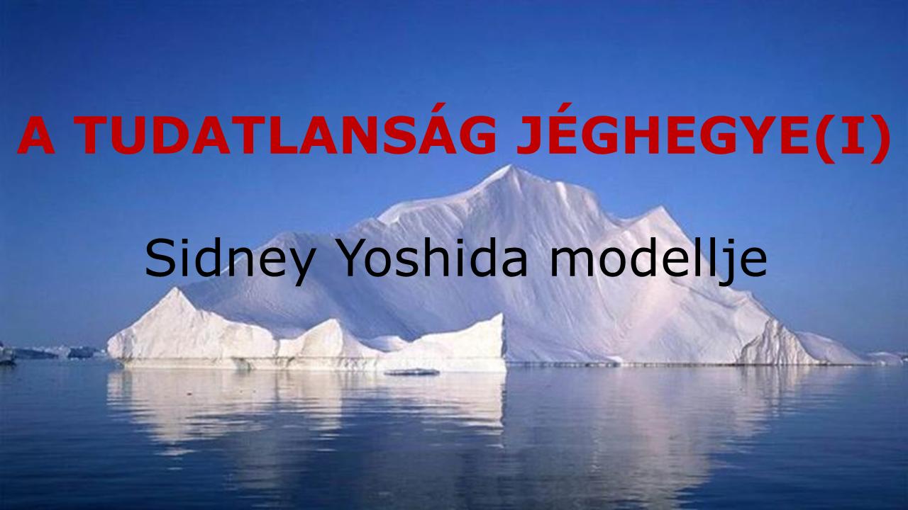 A tudatlanság jéghegye - gyakorlatorientált vezetőképzés