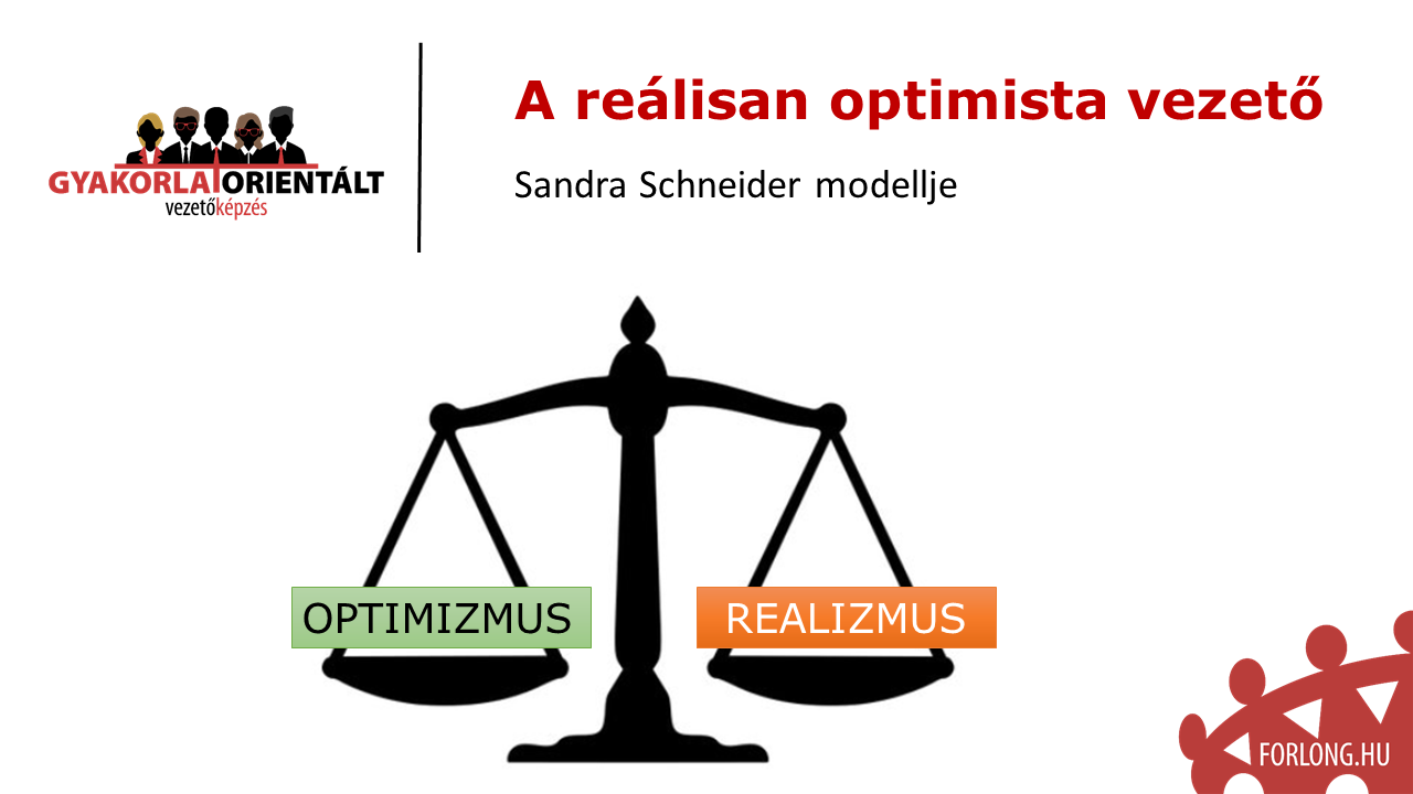 A reálisan optimista vezető - gyakorlatorientált vezetőképzés