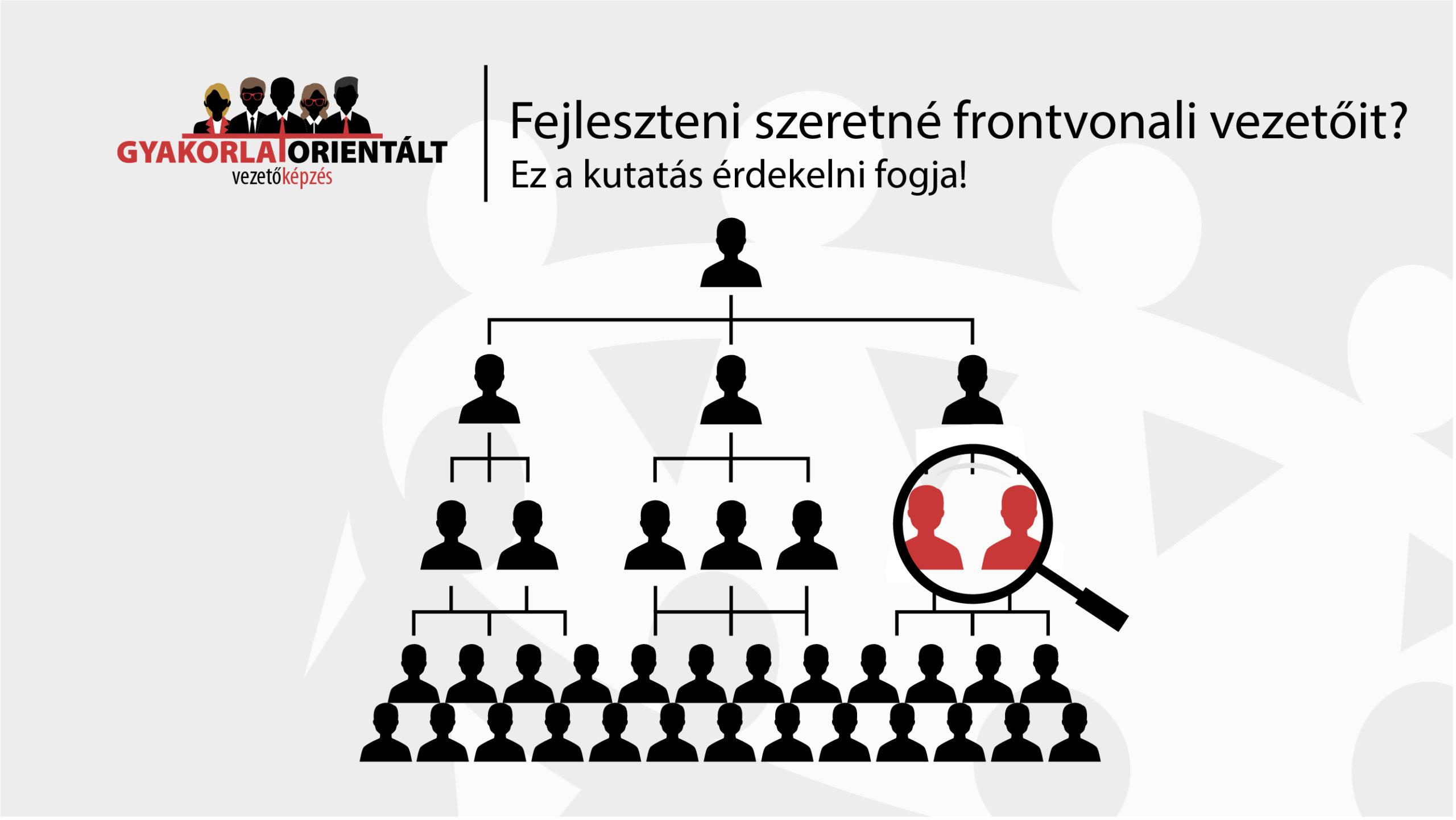 kutatás a frontvonali vezetőkről - gyakorlatorientált vezetőképzés