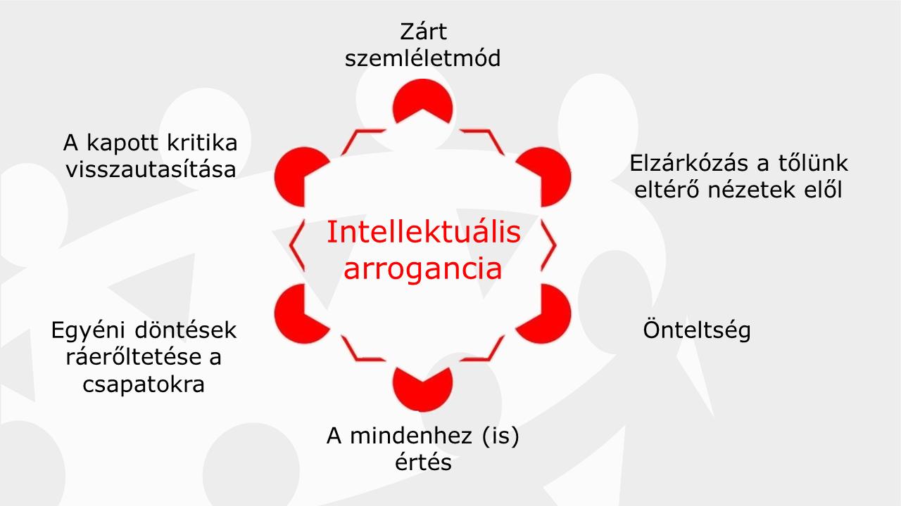 Az intellektuális arrogancia - gyakorlatorientált vezetőképzés
