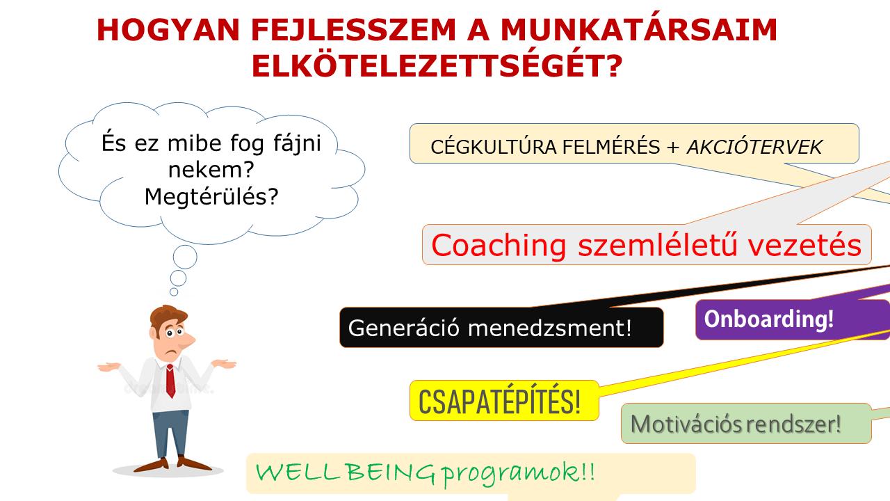 dolgozói elkötelezettség, munkavállalói elkötelezettség, gyakprlatorientált vezetőképzés